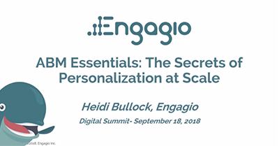 ABM Essentials: The Secrets of Personalization at Scale