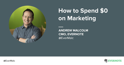 How to spend $0 on marketing