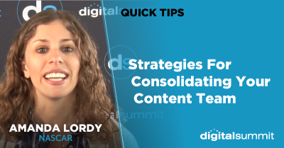 Strategies For Consolidating Your Content Team