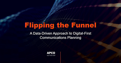 Flipping the Funnel: A Data-Driven Approach to Digital-First Communications Planning