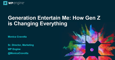 Generation Entertain Me: How Gen Z is Changing Everything