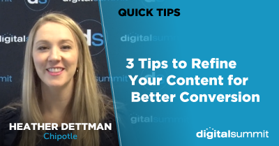 3 Tips to Refine Your Content for Better Conversion