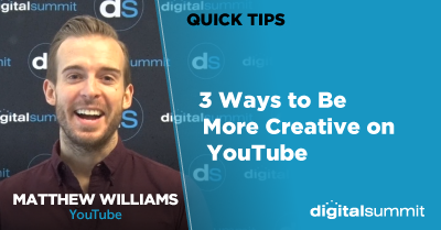 3 Ways to Be More Creative on YouTube