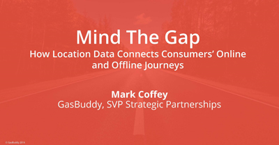 Mind the Gap: How Location Data Connects Consumers' Online and Offline Journeys