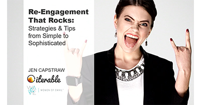 Re-Engagement that Rocks: Strategies & Tips from Simple to Sophisticated