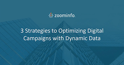 Three New Strategies for Optimizing Your Digital Campaigns with Dynamic B2B Data