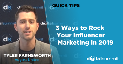 3 Ways to Rock Your Influencer Marketing in 2019