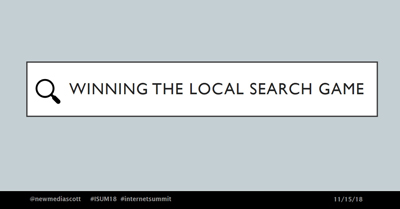 Winning the Local Search Game