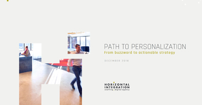 A Path to Personalization for Increased Conversions