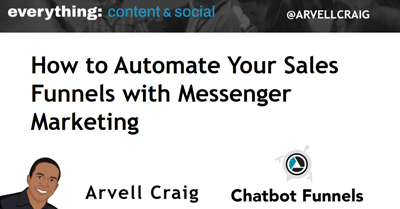 How to Automate Your Sales Funnels with Messenger Marketing