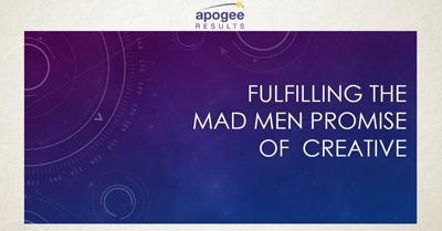 Digital Advertising and Data: Fulfilling the Mad Men Creative Promise