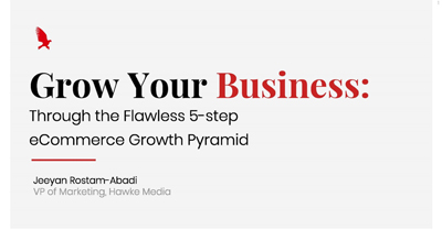 Grow Your Business Through the Flawless 5-step eCommerce Growth Pyramid