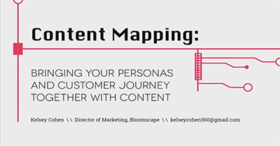 Bring Your Personas and Customer Journey Together Through Content
