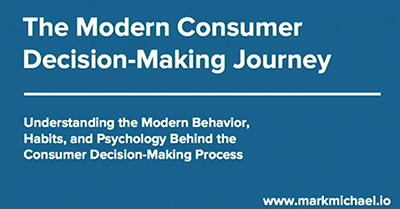 Defining and Analyzing the Modern Consumer Decision-Making Journey