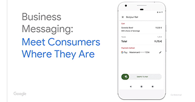 Business Messaging: Meet Consumers Where They Are