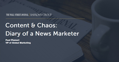 Content and Chaos: Diary of a News Marketer