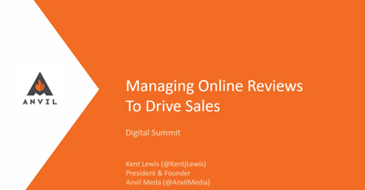Managing Online Reviews to Drive Sales