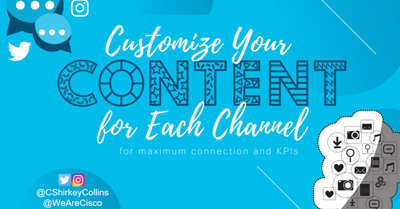 Customizing your content for each social platform will get you knockout results