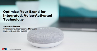Optimize Your Brand for Integrated, Voice-Activated Technology