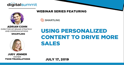 Using personalized content to drive more sales