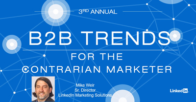 The Contrarian Marketer: B2B Trends to Differentiate Your Company