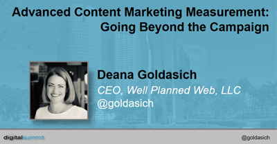 Advanced Content Marketing Measurement – Going Beyond the Campaign