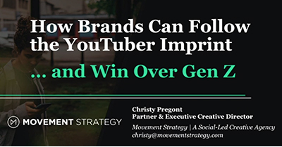 How Brands Can Follow the YouTuber Imprint and Win Over Gen Z
