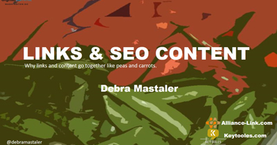 Link Building and Content Go Together Like Peas and Carrots