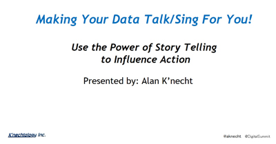 Make Your Data Talk and Sing for You