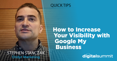 How to Increase Your Visibility with Google My Business