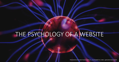 The Psychology of a Website: Optimize for Cognitive Biases, Conversion Triggers, and Google's RankBrain