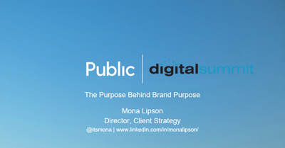 The Purpose Behind Brand Purpose