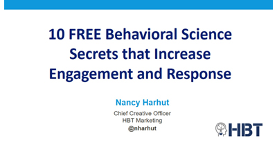 10 FREE Behavioral Science Secrets that Increase Engagement and Response