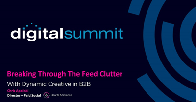 Breaking Through the Feed Clutter with Dynamic Creative in B2B