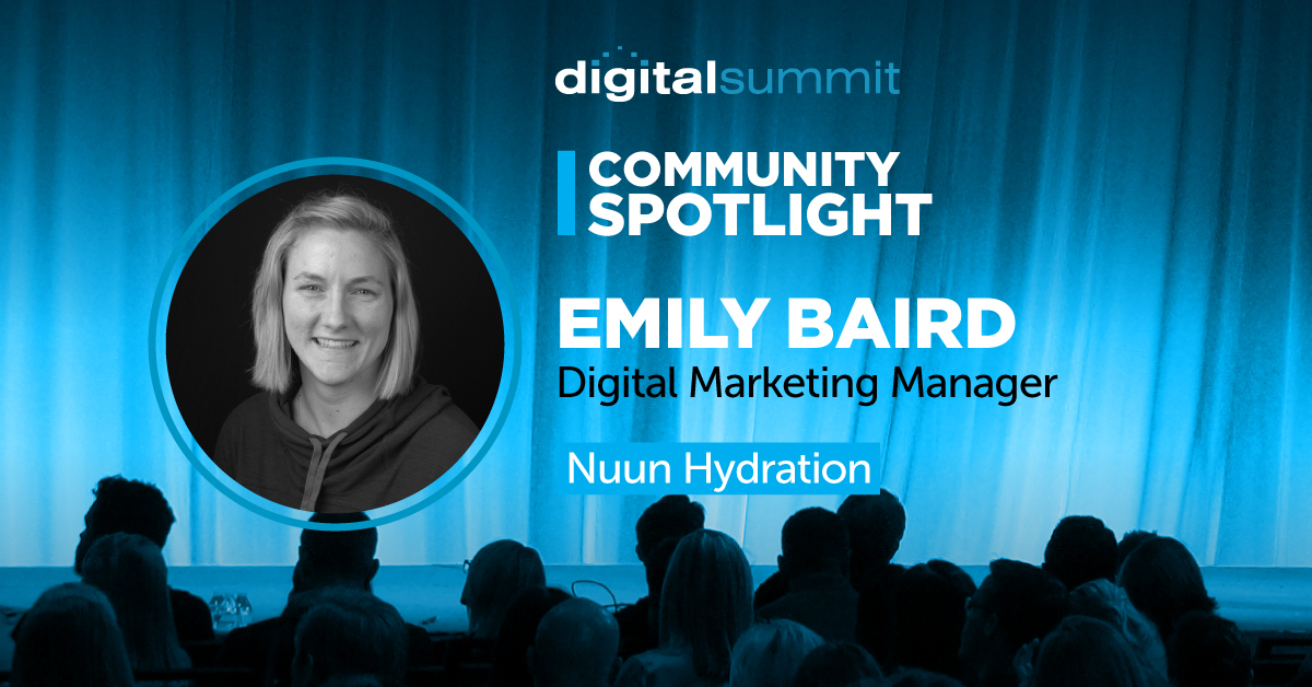 DS Community Spotlight - Emily Baird
