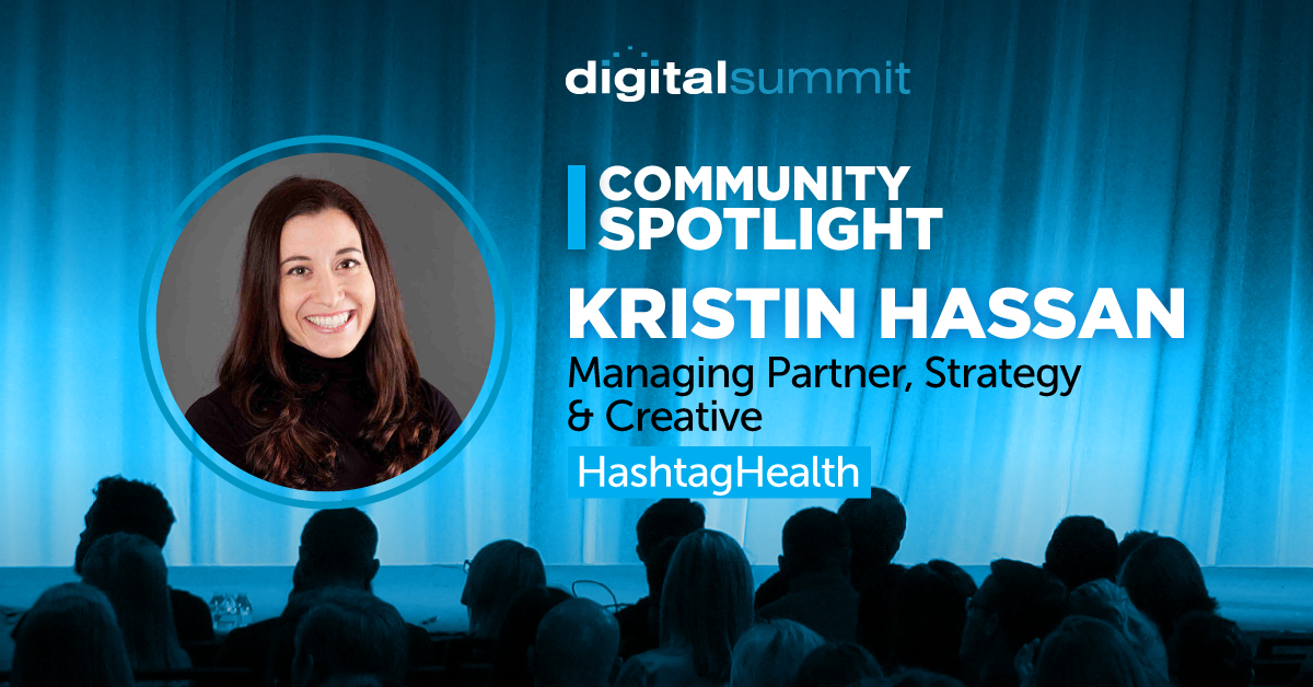 DS Community Spotlight - Kristin Hassan