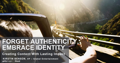 Forget Authenticity, Embrace Identity: The Key to Creating Content With a Lasting Impact
