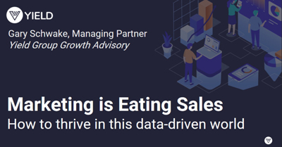 Marketing is Eating Sales: How to Thrive in This New Data-Driven World