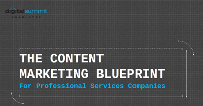 The Content Marketing Blueprint for Professional Services Companies