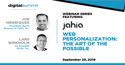 Web Personalization: The Art of the Possible