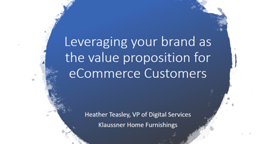 Establishing Your Brand as the Value Proposition Among E-Commerce Consumers
