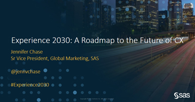 Experience 2030: A Roadmap to Future of Customer Experience
