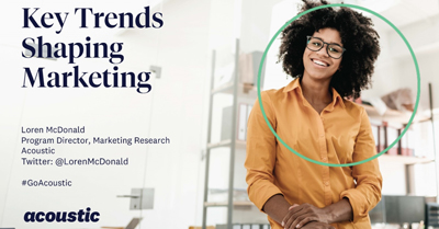 Key Trends Shaping Marketing in 2020 and Beyond