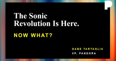 "So You've Joined the ""Sonic Revolution"" . . . Now What?"