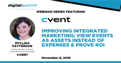 Improving Integrated Marketing: View Events as Assets Instead of Expenses & Prove ROI
