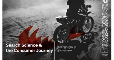 Search Science and the Consumer Journey