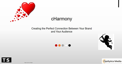 cHarmony: Creating the Perfect Connection Between Your Brand and Your Audience