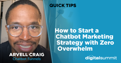How to Start a Chatbot Marketing Strategy with Zero Overwhelm