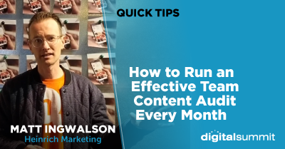 How to Run an Effective Team Content Audit Every Month
