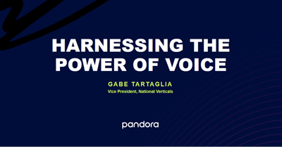 How Marketers Can Harness Voice In Our New Media World